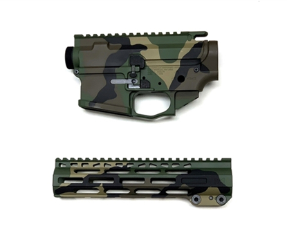 Picture of ADM4 M81 Woodland Lower/ Upper/Rail Combo