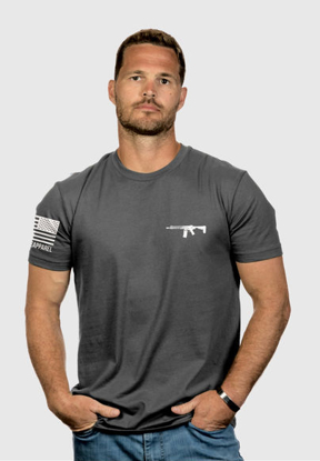 Picture of Nine Line ADM logo Performance T-shirt, Gray