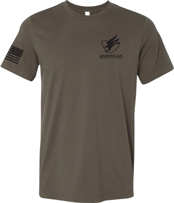 Picture of ADM logo Performance T-shirt, Army Green
